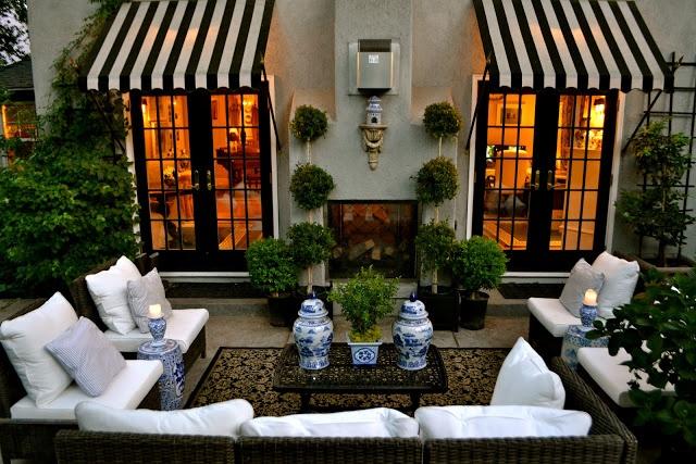 Vignette Design Outdoor Living Room Inspiration