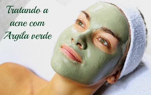 mascara de argila verde