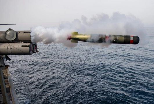 do quán tính cho ngư lôi MK 54