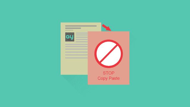 Cara melaporkan blog copas ke DMCA