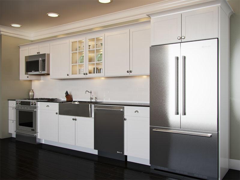 One Wall Kitchen Layout With Island - Kitchen Design ...