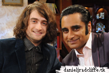 First look: Daniel Radcliffe on The Kumars