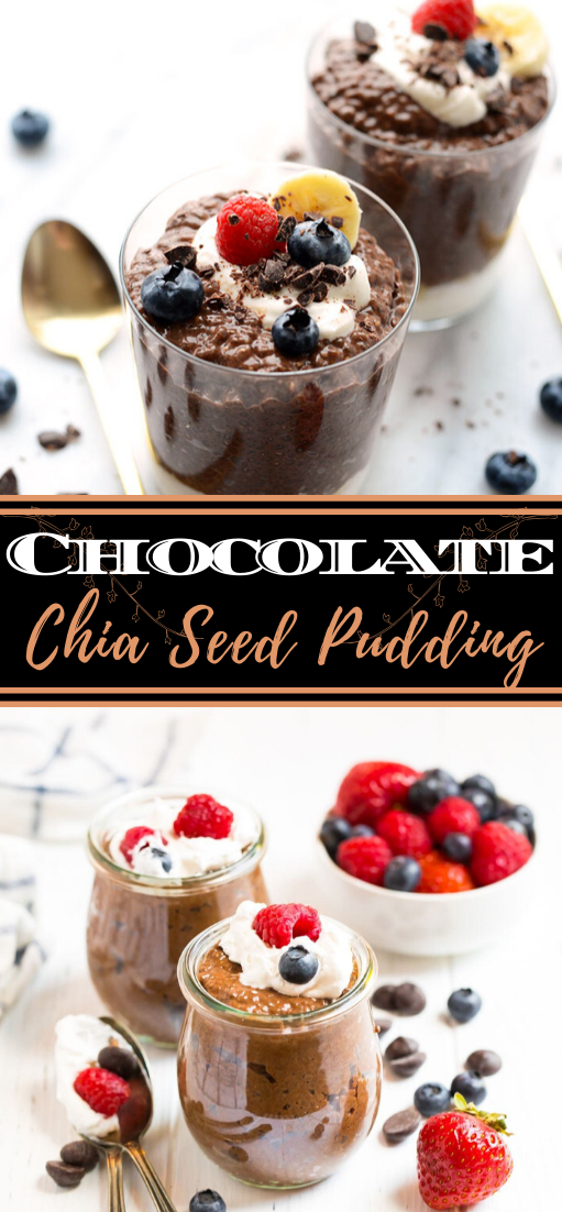 Chocolate Chia Seed Pudding #healthyfood #dietketo #breakfast #food