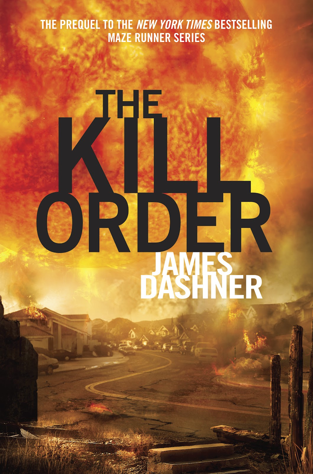 The Kill Order by James Dashner cover The Maze Runner