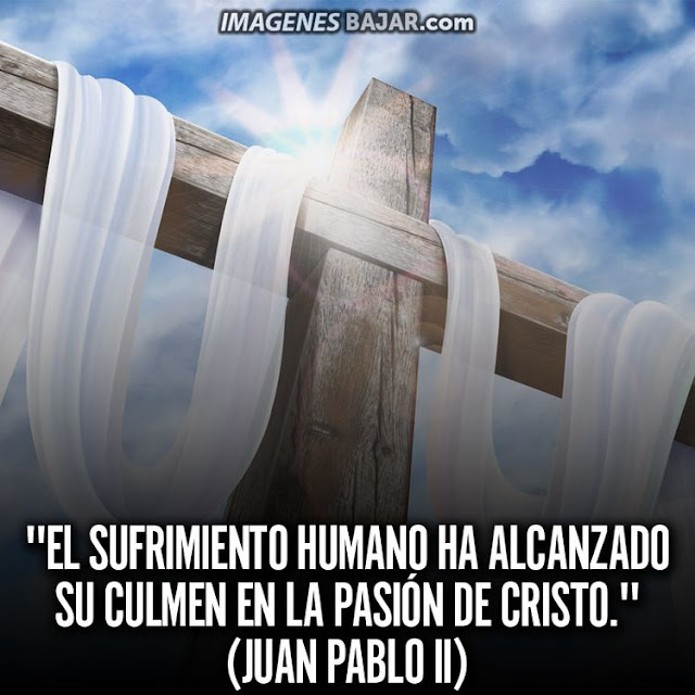 Imágenes de Semana Santa Saludos Felices Pascuas Cruz Sufrimiento de Jesús Cristo