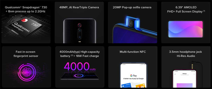Spesifikasi Smartphone Xiaomi Mi 9T