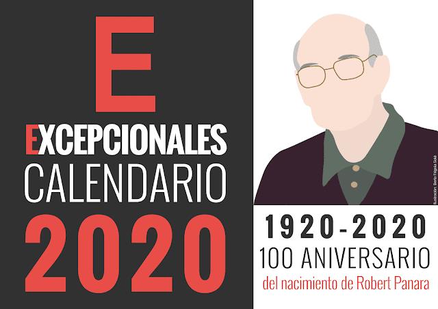 Calendario Excepcionales 2020 portada