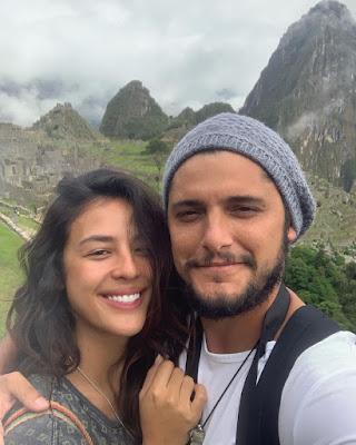 Yanna e Bruno aproveitam as férias — Foto: Reprodução/Instagram