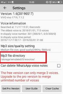 Cara Merubah Voice Note Whatsapp Menjadi Mp3