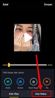 Cara membuat video mundur di Tik Tok dengan mudah 6