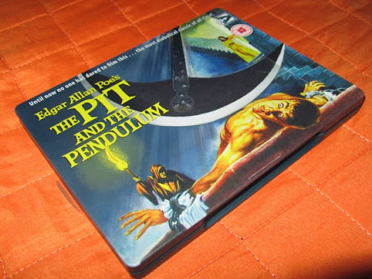 The Pit and The Pendulum Steelbook Limited Edition BD UK