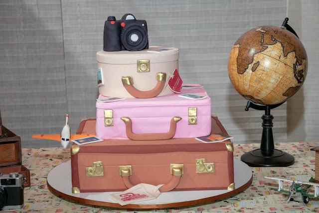 Blog Apaixonados por Viagens - Bolos de Festa com Tema Viagens
