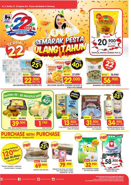 #Superindo - #Katalog Super Hemat Periode 22 - 28 Agustus 2019