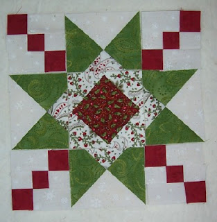 Quilting On Main Street Ohio Star Variation Quilt Block