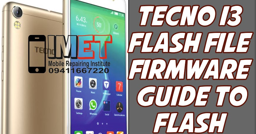Download Tecno I3 Frp File