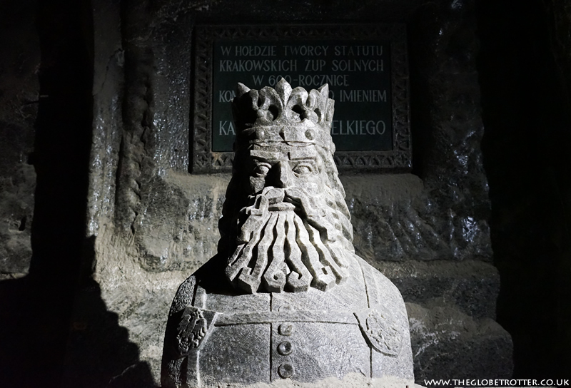The Wieliczka Salt Mine - King Casimir