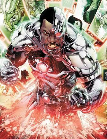 Cyborg es miembro de la Justice League en los cómics de DC