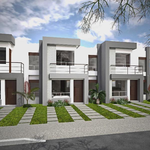 Fachadas para casas de dos pisos fachadadecasasmodernas for Fachadas de casas minimalistas de 2 plantas