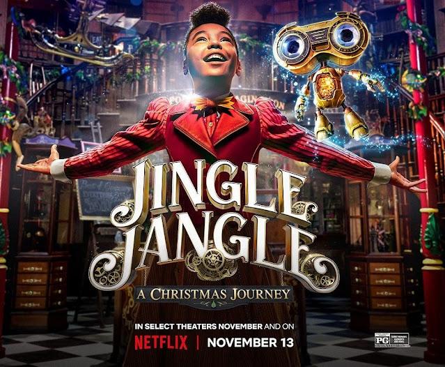 Jingle Jangle: A Christmas Journey Movie 2020 Full 1080p Movie Download