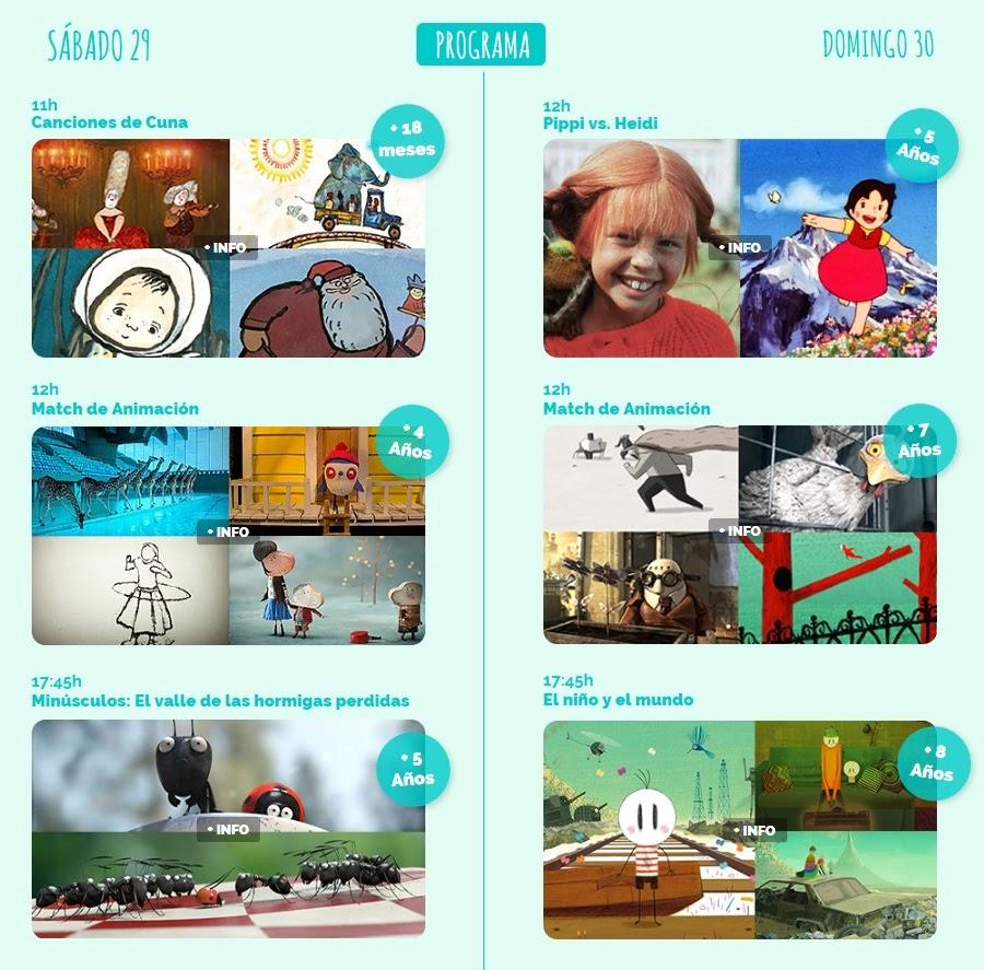 I Festival de Cine Infantil en Madrid