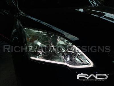 Richz Auto Designs spesialis modifikasi lampu depan mobil