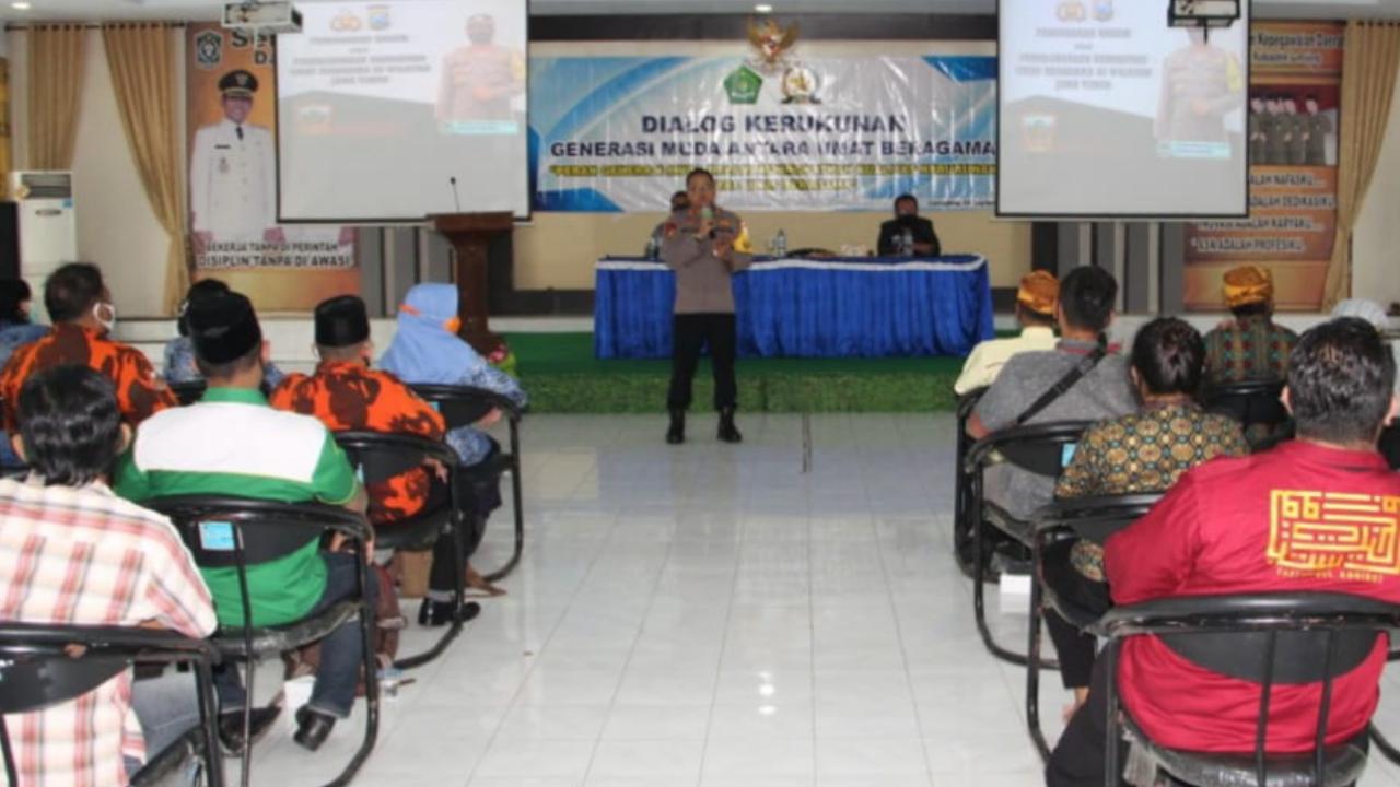 Kapolres Siap Jaga Kerukunan Antar Umat Beragama di Lumajang