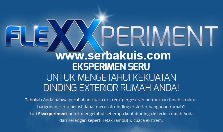 Kuis Flexxperiment Berhadiah Voucher Sodexo 800K / Periodenya