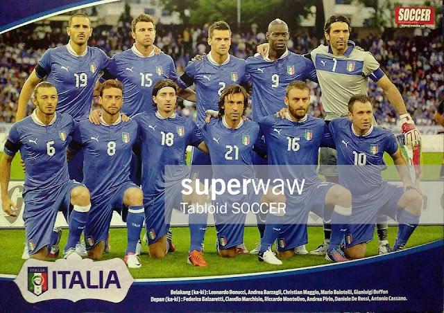 Italy Team Squad 2012