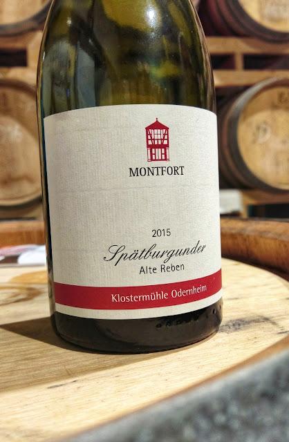 Spätburgunder vom Weingut Klostermühle Odernheim