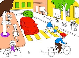 بمناسبة اليوم الوطني للسلامة الطرقية رسومات للتلوين