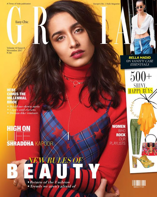 Shraddha Kapoor Sizzles on Grazia India November 2017 Cover