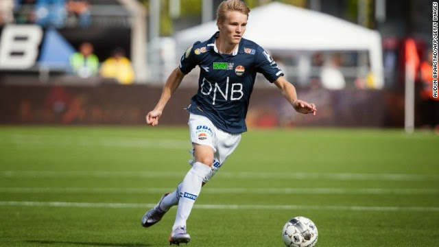 Liverpool eye Norway starlet Martin Odegaard