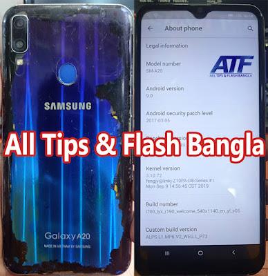 Samsung Clone A20 Flash File