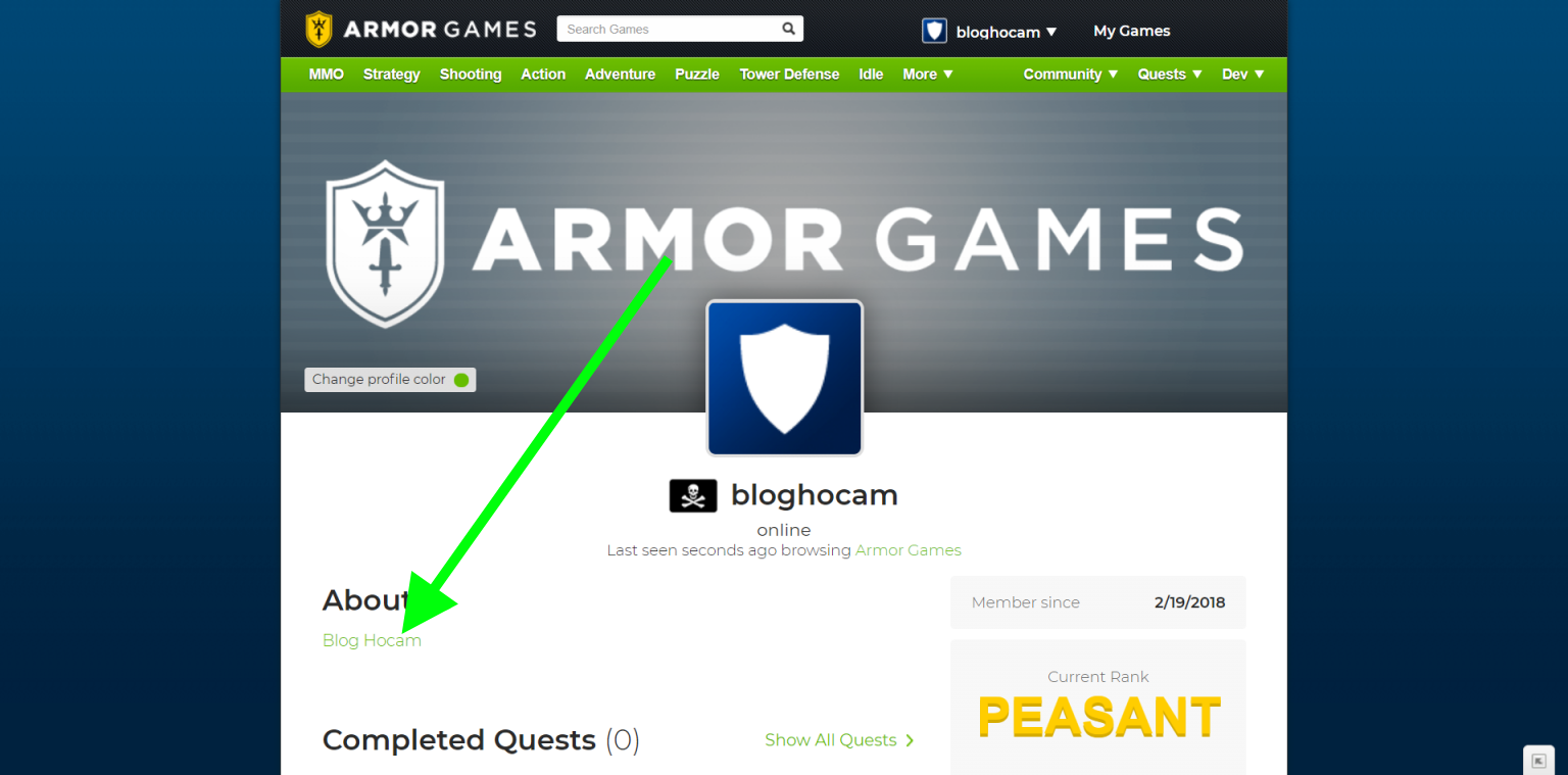 armor games backlink