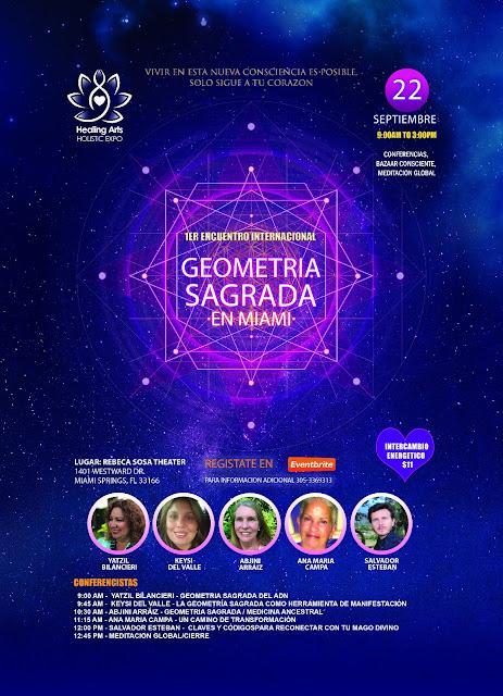 1er. Encuentro Internacional de Geometria Sagrada, http://bit.ly/geometriasagrada Asiste virtualmente si no estas en Miami http://bit.ly/2BXIj0d