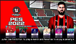 Download PES 2022 PPSSPP Peter Drury Commentary Update Face and Hair (200+) & New Kits and Minikits Like PS4