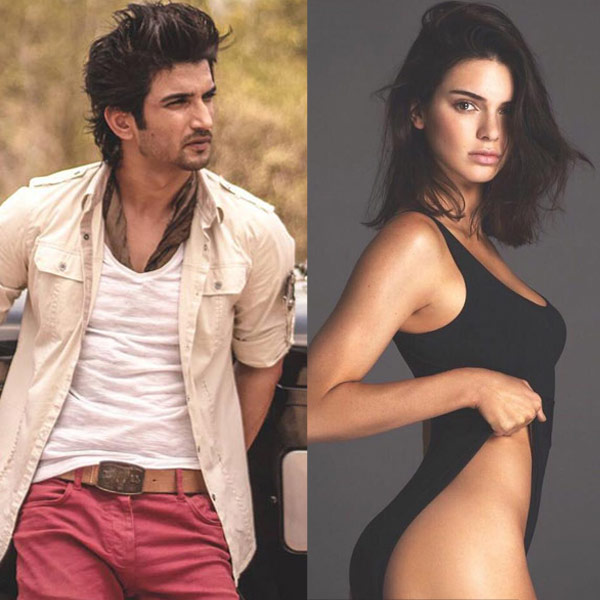 Sushant Singh Rajput And Kendall Jenner Photoshoot 2017