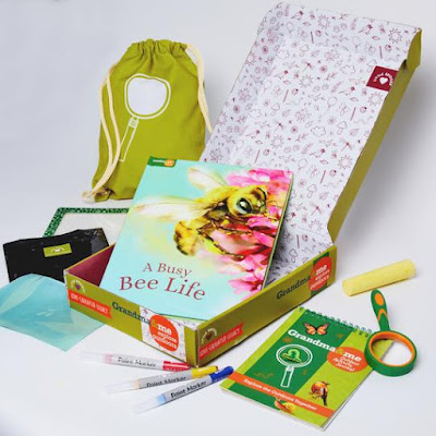 grandma and me giveaway, explore the outdoors, activity kit, activities for kids, outdoor kid toys, summer fun for kids
