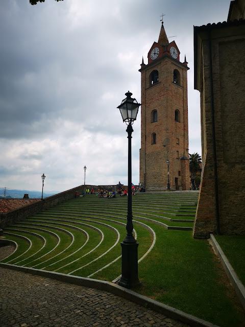 la torre quadrangolare di Monforte