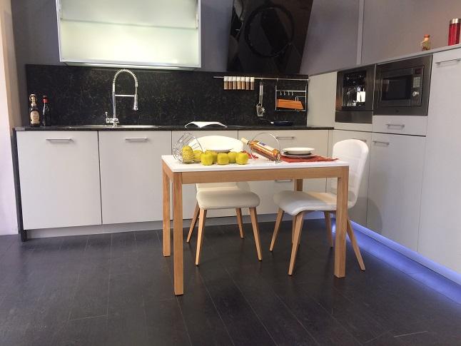 Mesa cocina o comedor fija, extensible 90x70 cm | mesas de cocina y ...