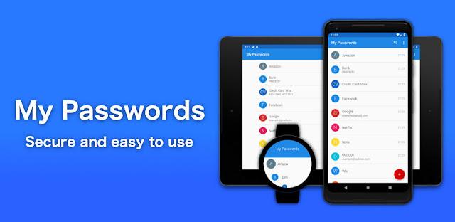 تنزيل تطبيق My Passwords - Password Manager Pro  - تطبيق إدارة كلمة مرور لنظام الاندرويد