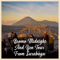 Bromo Midnight From Surabaya