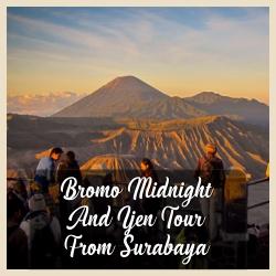Bromo Midnight From Surabaya