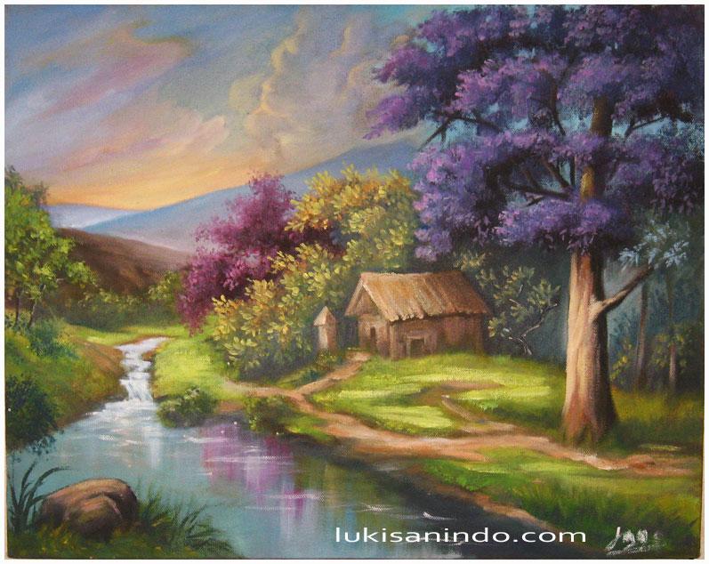 Situs Inspirasi Lukisan Pemandangan Dan Arti Seni