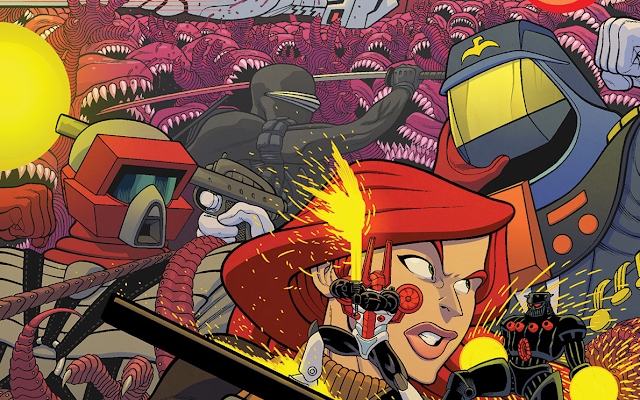 Miles Mayhem Featured In Several Variant Covers For Revolution #5