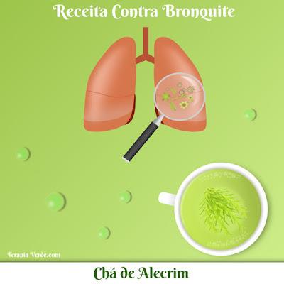 Receita Contra Bronquite: Chá de Alecrim