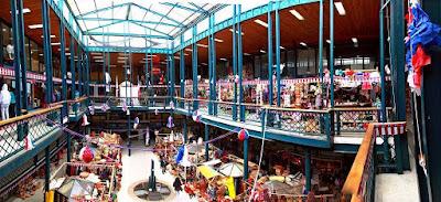 Valdivia's marketplace.