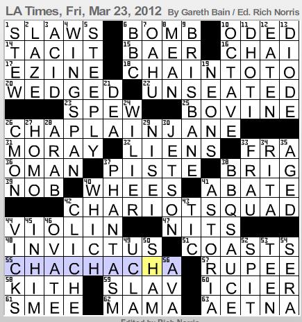 equivocators crossword