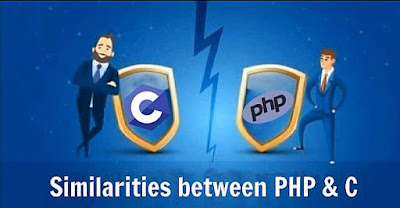 Similarities between PHP and C
