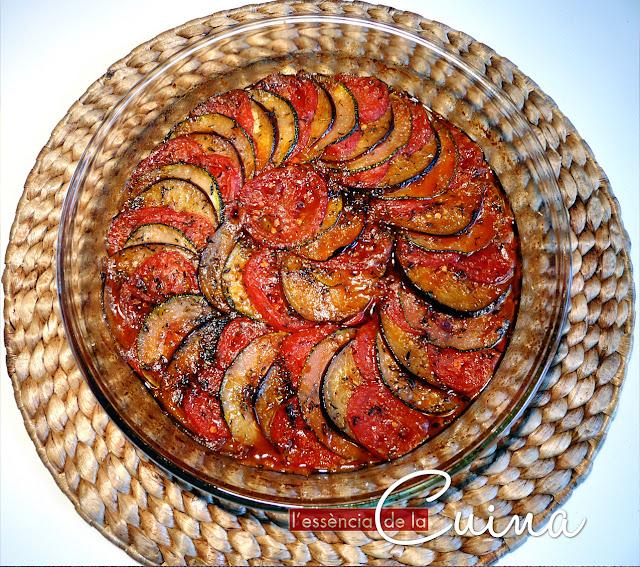 Ratatouille, verdures, Thermomix, l'essència de la cuina, blog de cuina de la sònia, cuina facil, cuina casolana, homemade